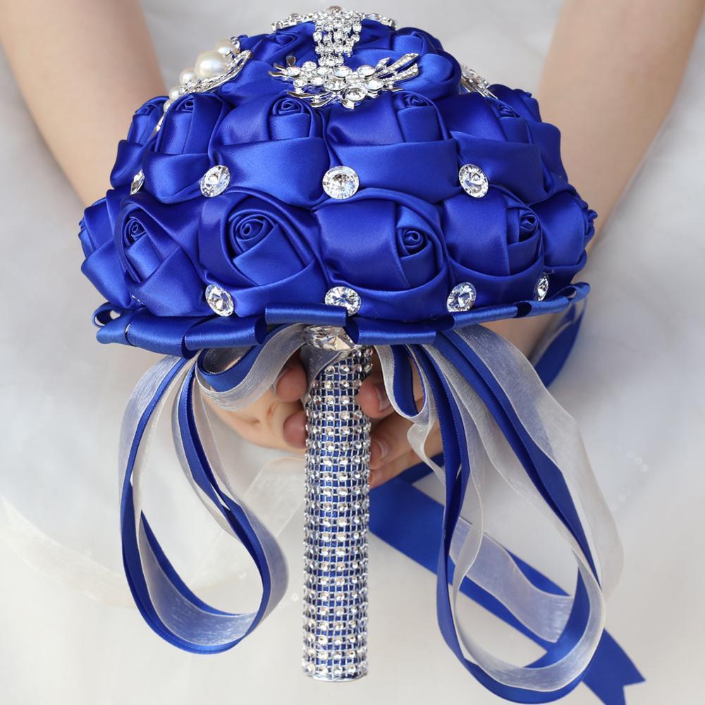 Tusels luksoze Royal Blue Tassels Diamond Dasma, Buqeta e Nusërve - Furnizimet e partisë - Foto 5