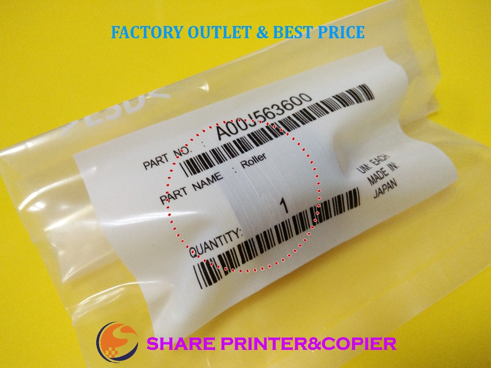 SHARE Original A00J563600 A00J-5636 Pickup Roller for Konica Minolta C200 C203 C220 253 C280 C353 C360 C451 C452 C550 C552 C650 high quality color toner powder compatible for konica minolta c203 c253 c353 c200 c220 c300 free shipping