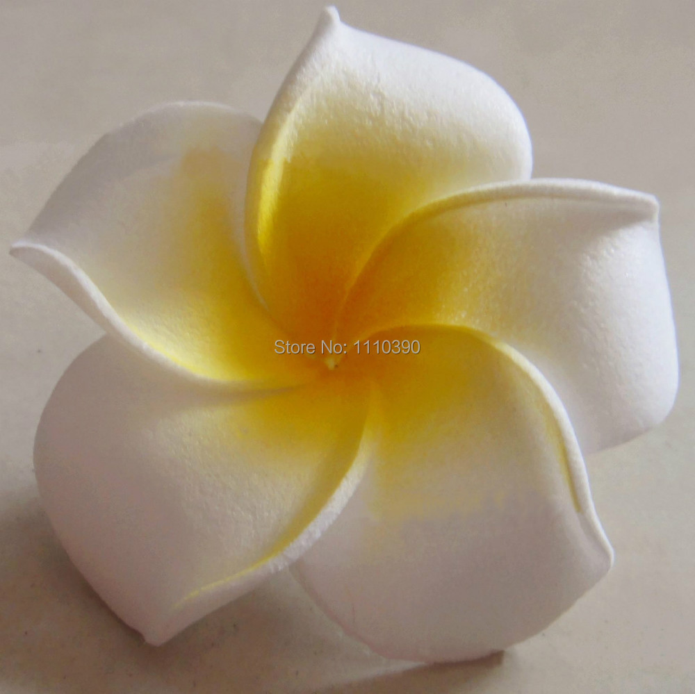 6cm artificial flowers headsfake foam pe hawaiian flowers 6cm artificial flowers headsfake foam pe hawaiian flowers frangipani flower for diy wrist corsagehair accessories decoration in artificial dried flowers izmirmasajfo