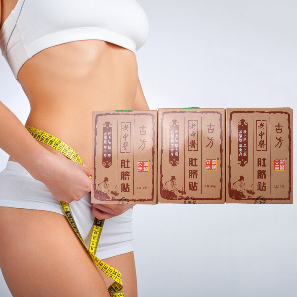 10 Patches/Lot Hot Body Shaping Slimming Stickers Slimming Navel Stick Fast Weight Lose Products Slim Patch Burning Fat Patches