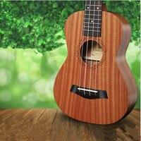 21 Inch 15 Frets 4 Strings Sapele Mini Ukulele Rosewood Guitar Stringed Musical Instruments UK 21THX