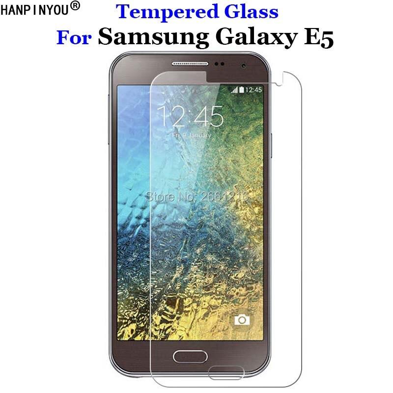 Закаленное стекло 9H 2.5D премиум-класса для Samsung Galaxy E 5, защитная пленка для экрана Samsung Galaxy E5 E500 5,0