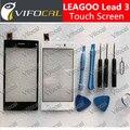 Leagoo Ведущий 3 Touch Screen Digitizer 100% Оригинал Замена Панель Ассамблея Аксессуар Для Мобильного Телефона-Бесплатная доставка