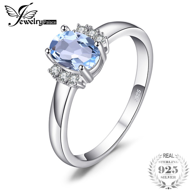 accent blue ring engagement promise topaz wedding split cut moissanite gold round sky rings white fullxfull il band shank