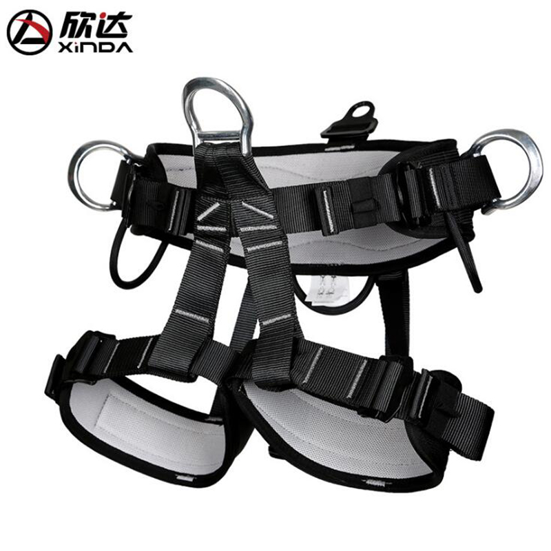 Xinda Half-length Waistband Leggings Belts Professional Rescue Rock Climbing Rescue Operations Outdoor Harness xinda professional half body safety belt harnesses for rock climbing outdoor expand training aerial protective supplies