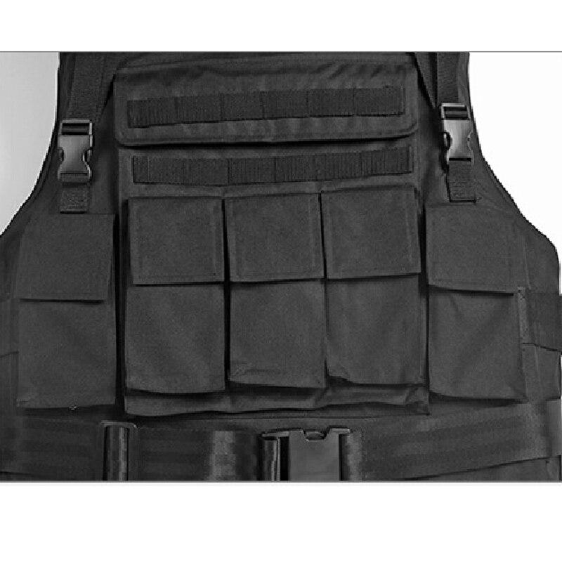 Купить с кэшбэком Floating Aramid Bullet Proof Military Tactical Vest nij-iiia.44 Bulletproof Waterproof And Flame Retardant 600D Oxford Army Ves