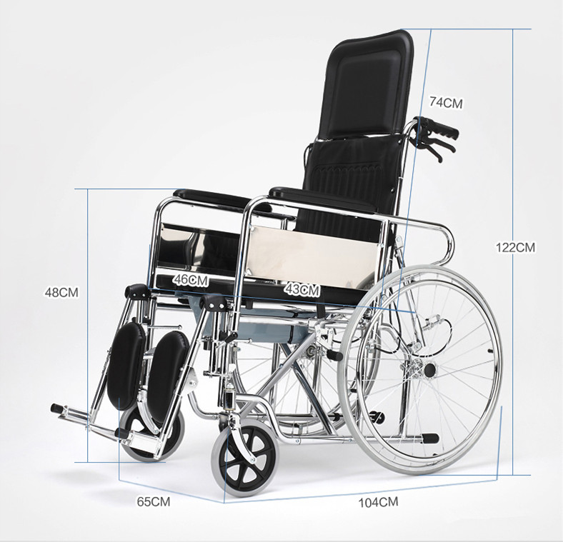 Lightweight portable manual font b wheelchair b font for font b disabled b font people