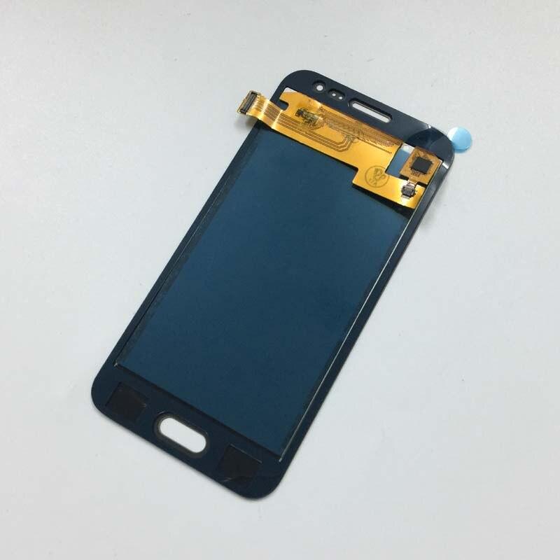 imágenes para Negro Pantalla Táctil Digitalizador Del Sensor de Cristal + Pantalla LCD Monitor de Montaje para Samsung Galaxy J2 2015 J200 J200F J200Y J200H