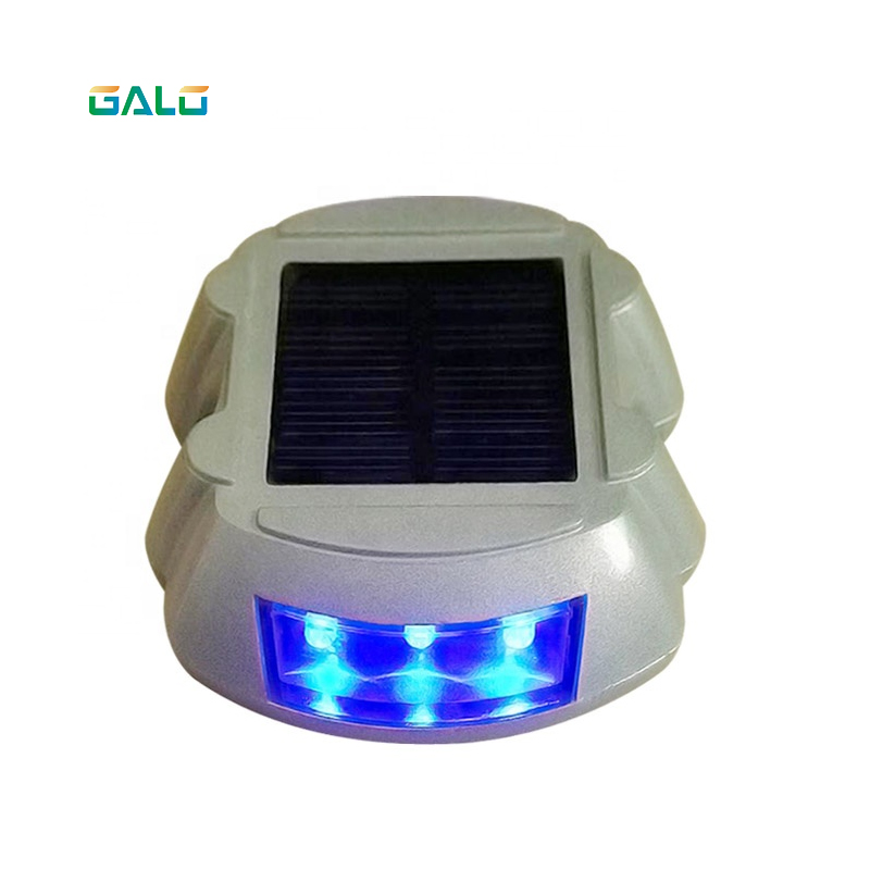 Solar Panel Powered Waterproof Solar Aluminum Road Stud Led Reflective Road Mark Cat Eyes Highway Light