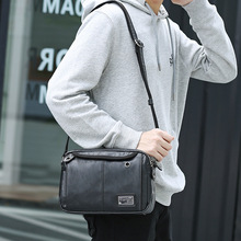 Man Leather Classic Bag Cross Body Travel Shopping Business Messenger for Men Top Quality