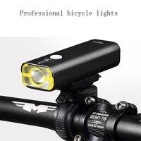 AOXIN 자전거 빛 자전거 조명 5 모드 넓은 투광 85 충전식 방수 캠핑 테르 드 자전