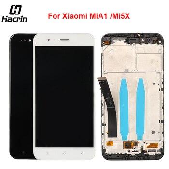 Para Xiaomi mi A1 mi A1 pantalla LCD + Touch Panel LCD pantalla digitalizador Asamblea reemplazo para Xiaomi mi 5X mi 5X5,5 pulgadas + herramientas