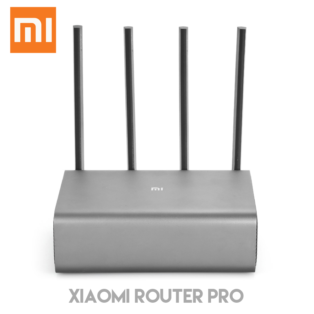 Routeur d'origine Xiaomi Pro 2600 Mbps routeur sans fil intelligent WiFi dispositif réseau 4 antenne double bande 2.4 GHz 5.0 GHz
