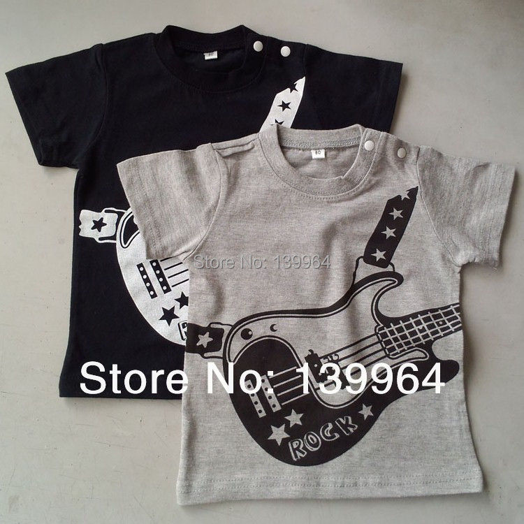 Hot sales high quality low price baby wear for summer days short sleeves 100%cotton T-shirt for 0-2 years children clothing