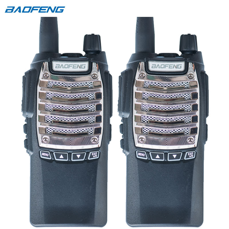 2 PCS New BaoFeng Pofung Two Way Radio UV 8D UV8D Portable PTT radio Walkie Talkie