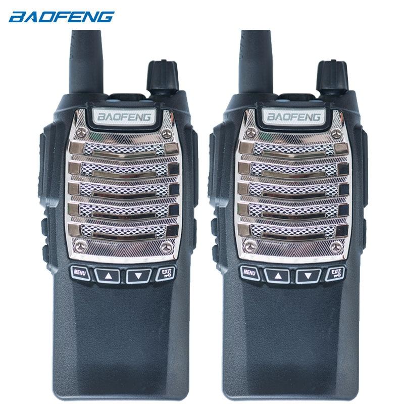 2 PCS New BaoFeng Pofung Two Way Radio UV-8D UV8D Portable PTT radio Walkie Talkie Transceiver Standared Battery two way radio