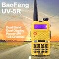 BAOFENG УФ-5R Рация Dual Band Радио Желтый 136-174 МГц & 400-520 МГц Baofeng UV5R портативный Walkie Talkie