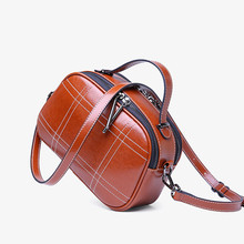 2019 New Brand Design Small women's Crossbody Bags Oil Waxing Cow Leather Shoulder Bag Genuine Leather Messenger Bags