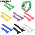 Silicone Watchband Strap Wristband For POLAR FT4 FT7 Heart Rate Monitor Fitness Watch
