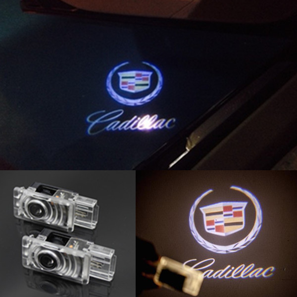 Car Door Welcome Led for Cadillac SRX XTS ATS Laser Projector Logo Light Shadow Ghost Courtesy Lamp