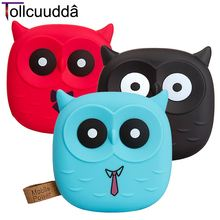 Tollcuudda 18650 Cute Pover Bank Cartoon Owl Powerbank Portable Charger Battery For Mobile Phone Iphone Xiaomi Battery Poverbank