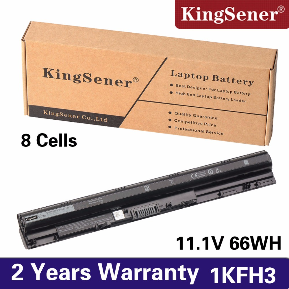 KingSener 66Wh 1KFH3 Laptop Battery for Dell Inspiron 14 15 3000 3451 3551 5558 5758 V3458 V3558 WKRJ2 GXVJ3 HD4J0 K185W M5Y1K ноутбук dell inspiron 5558 5558 8193