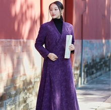 New style Chinese clothing Long sleeve Hanfu female Han dynasty Gown couture fashion of China