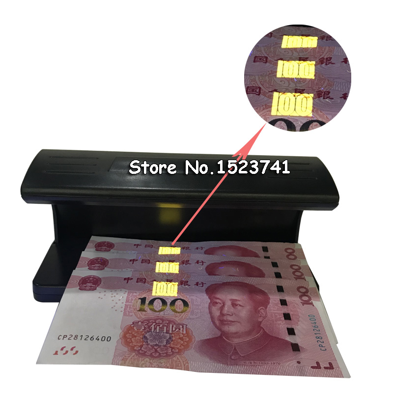 Money-Detector Note Fake-Polymer-Bank Bill Ultraviolet Counterfeit Checker UV Forged