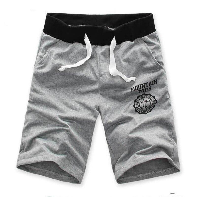Hot Sale Comfortable Shorts Men Gym Sport Jogging Beach Trousers Loose Short Style Solid Trousers Men