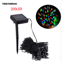 YINGTOUMAN Fairy LED Strip Solar Lamps Garden Wedding Holiday Christmas Party Decoration Lamp Solar String Lights