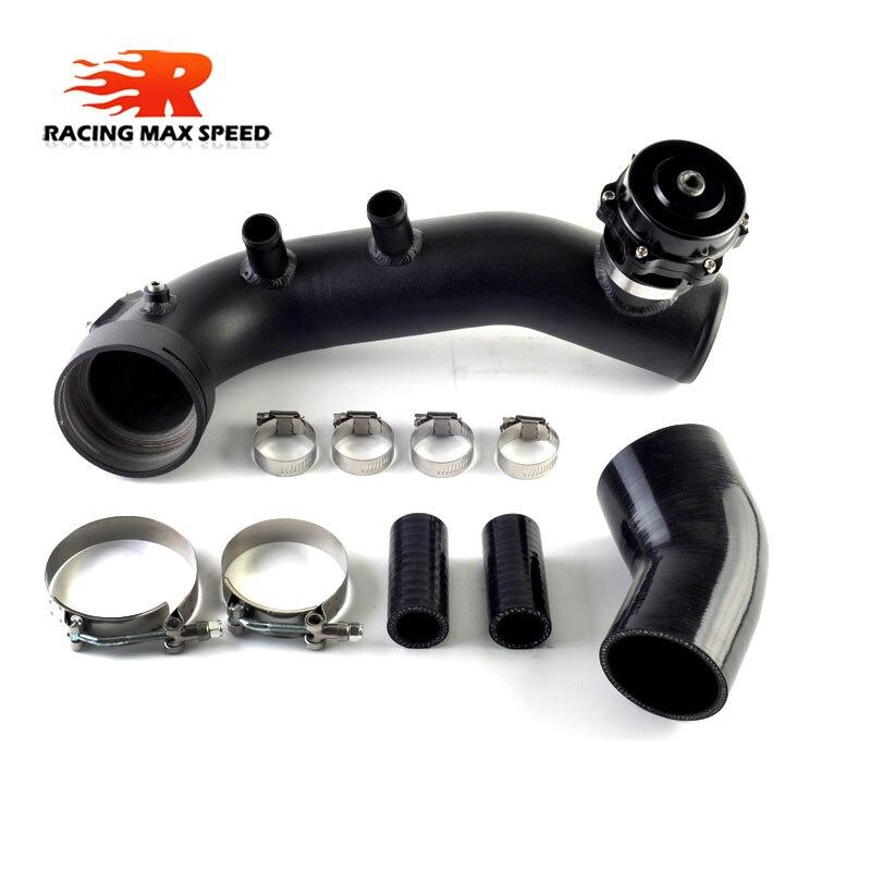 Tuyau de Charge de remplacement en aluminium pour tuyau turbo d'admission intercooler avec combinaison BOV pour BMW N54 E82 E88 135i 335i 335is E90 E92 E93