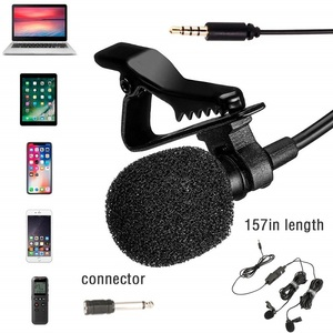 Image 3 - BOYA BY M1DM Lavalier Microphone 4m Omni directional Clip on Lapel Video Mic for iPhone Canon Nikon DSLR,Updated of BY M1