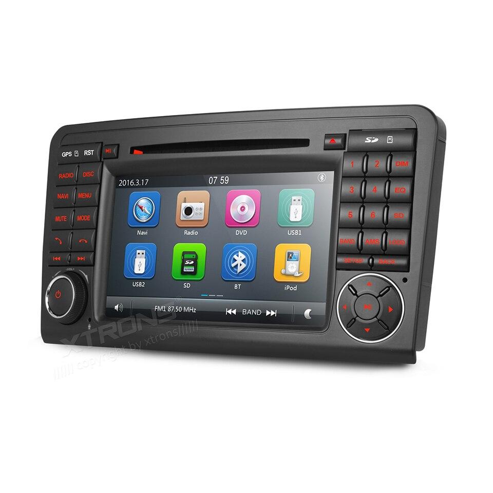 Doppel 2 Din Autoradio DVD GPS Navi Für Mercedes benz ML W164 W300 ...