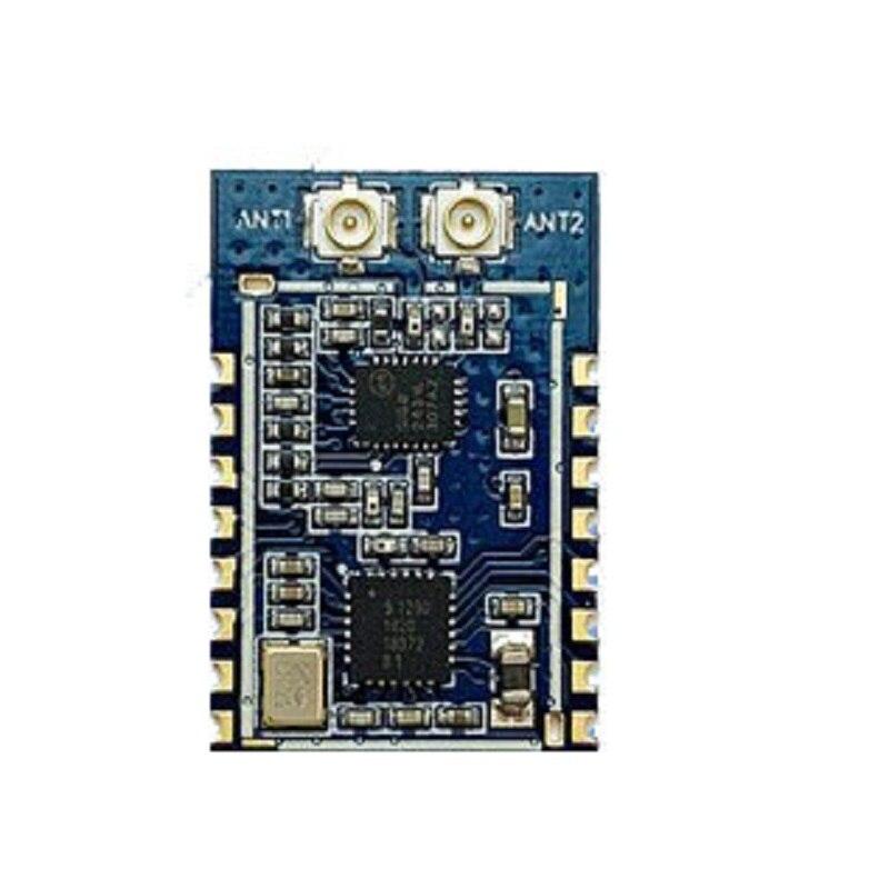 SX1280 PA Wireless Module 2.4G Wireless Dual Antenna Module Wireless Ranging Positioning LoRa Spread Spectrum 4000