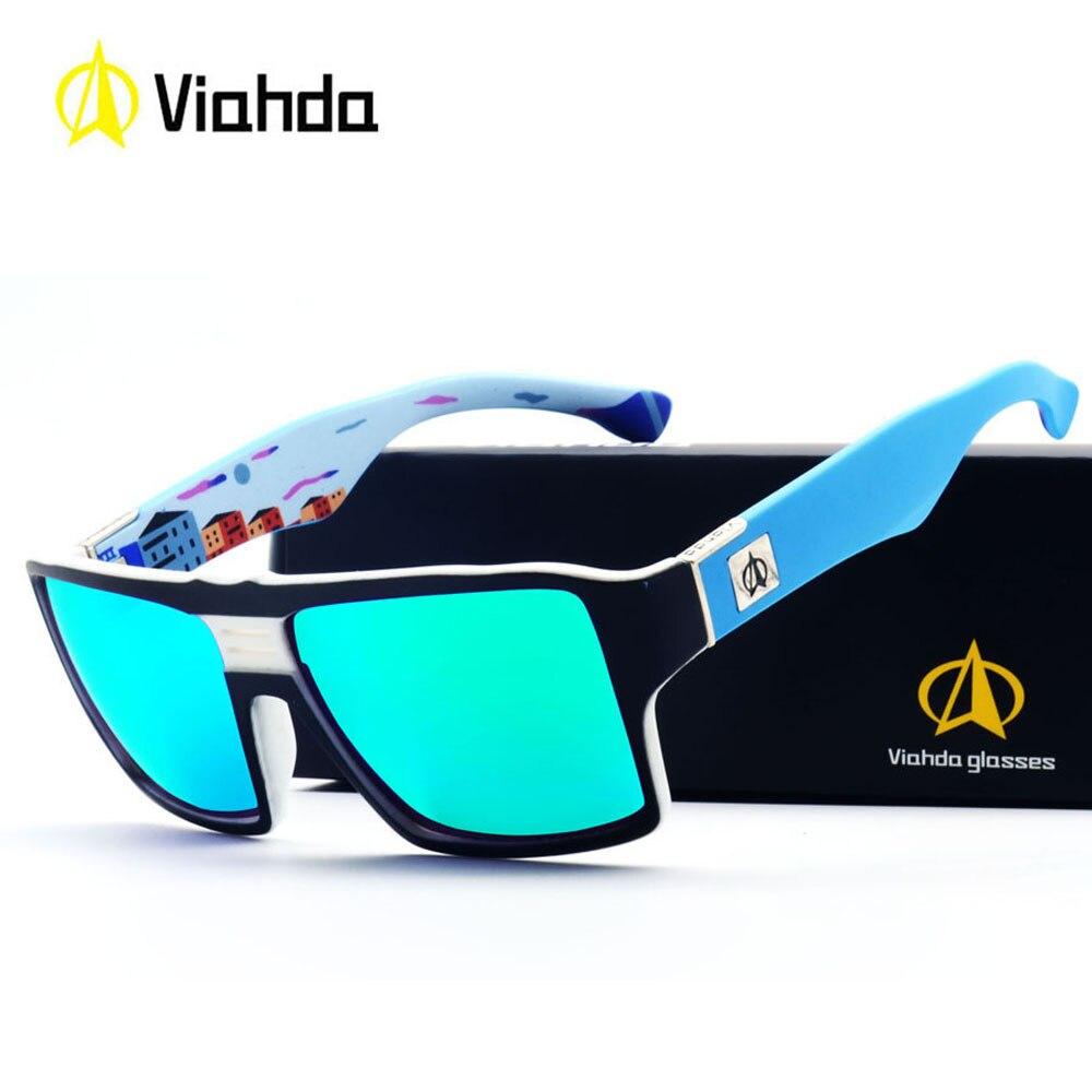 Viahda neue Sonnenbrille Männer Driving Shades Männlichen Sonnenbrille Für männer Retro Luxus Marke Designer