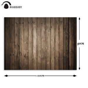 Image 5 - Allenjoy fotografie hintergrund farbe braun holz boden wand kleine größe vinyl sommer hintergrund studio foto photophone photocall