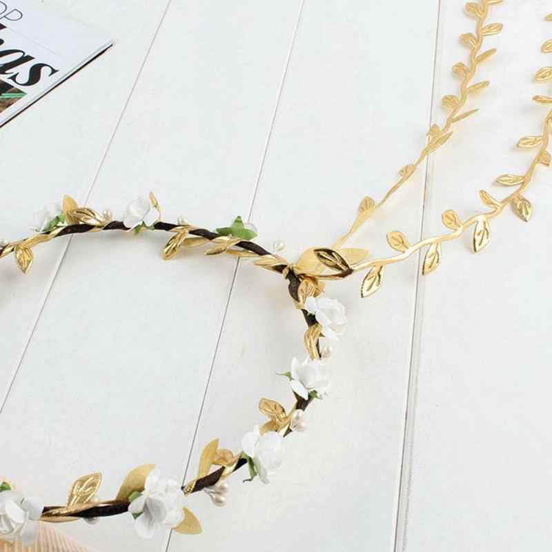 Festival Wedding Wreath Garland Crown Flower Headpiece Photography Tool For Adults And Children Girl's Hair Accessories Apparel Accessories