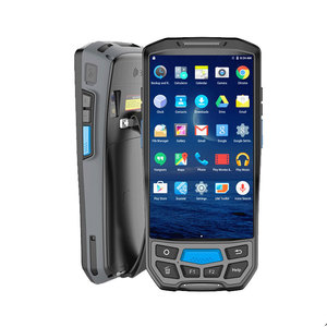 Image 3 - Caribe PL 50L Mobile Computer Android PDA Wifi 2D Bluetooth Barcode Scanner and GPS Printer UHF RFID NFC POS Printer