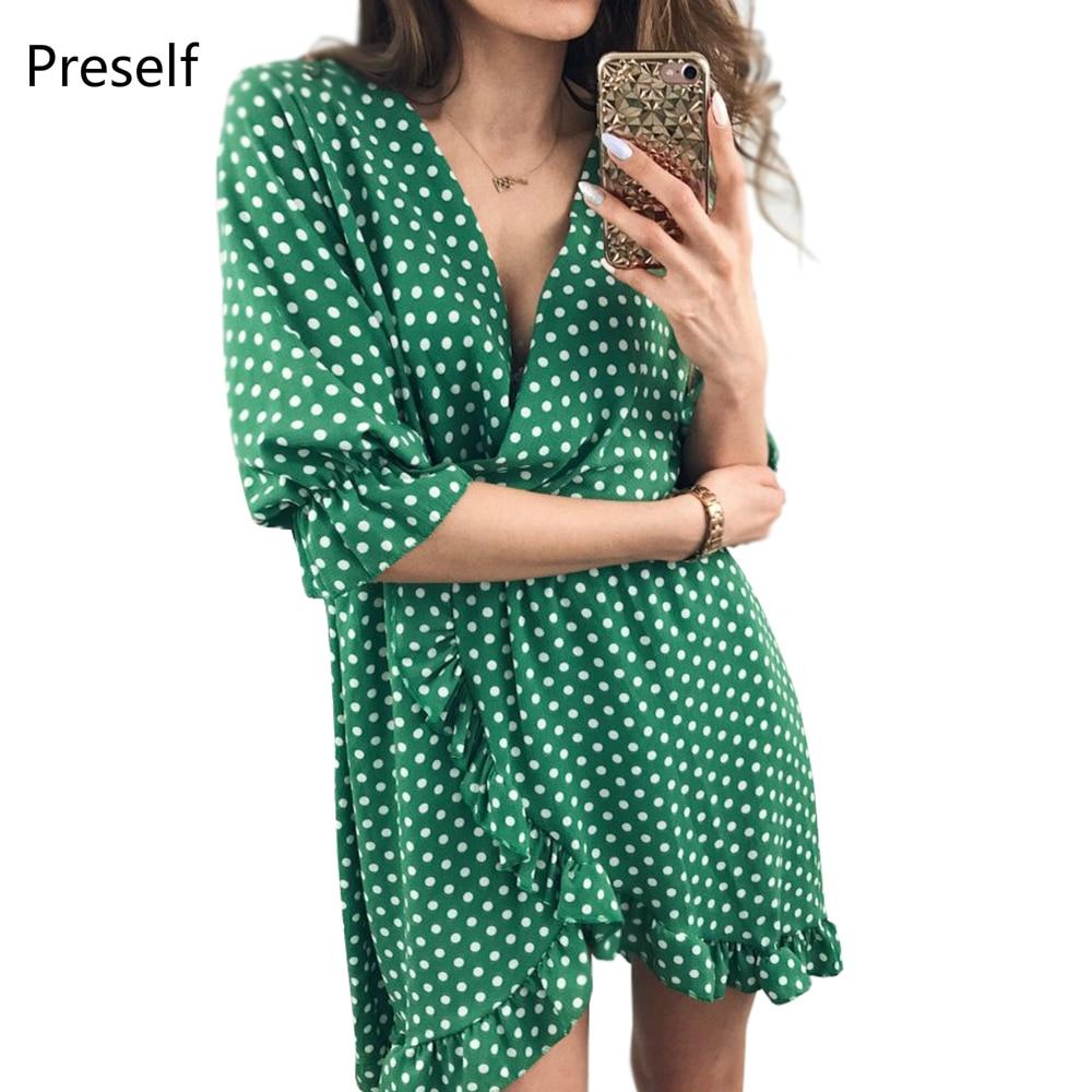Small resale V Neck Single Breasted Plain Long Sleeve Bodycon Dresses sizes northampton
