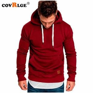 Covrlge Mens Sweatshirt Long Sleeve Autumn Spring Casual Hoodies Top Boy Blouse Tracksuits Sweatshirts Hoodies Men MWW144(China)