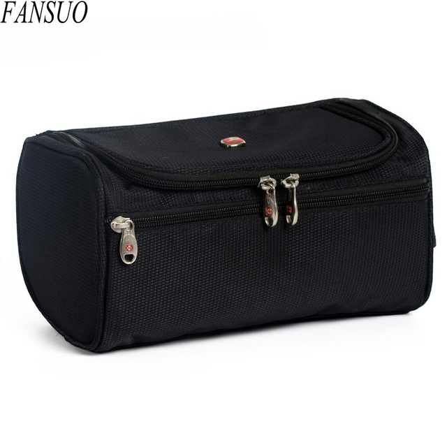 High Quality Travel Portable Waterproof Wash Toiletry Organizer Make up Bag Large Multifunction Hanging Beautician Cosmetic Bag