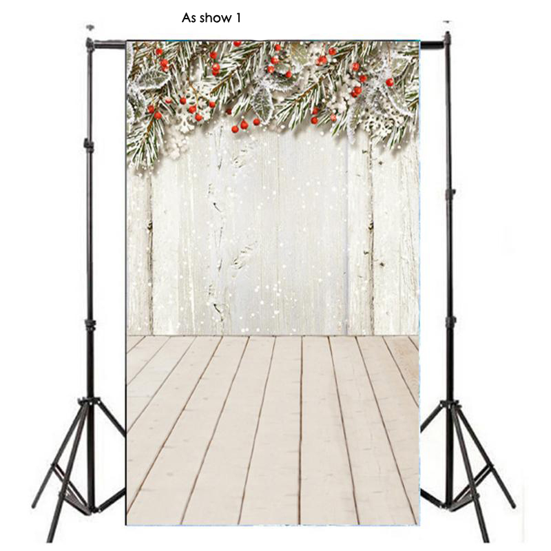0.9 x 1.5m Christmas Snow Retro Vinyl Studio Photo Backdrop Photography Props 3D effect background of live streaming shengyongbao 300cm 200cm vinyl custom photography backdrops brick wall theme photo studio props photography background brw 12