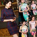 Free shipping vestidos de fiesta cheongsam qipao traditional Chinese dress oriental dresses chinese qipao for women 12 style