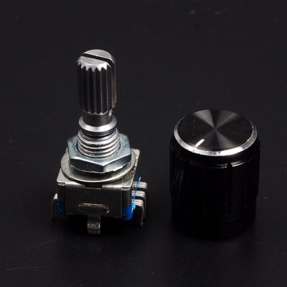 1 conjunto de potenciômetro digital, codificador rotativo de 360 graus, interruptor de código e botão