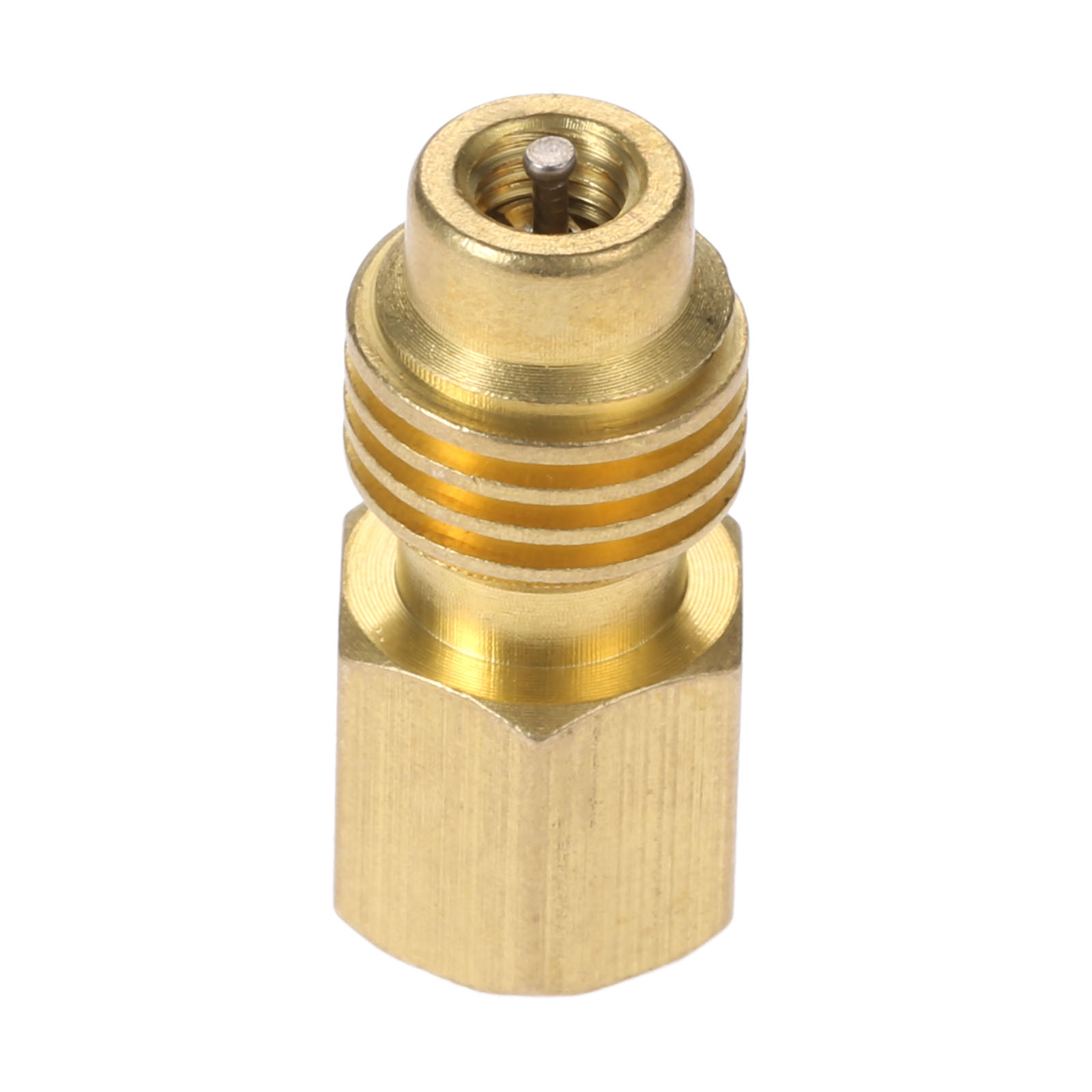 Image 4 - Yetaha R1234yf Hose Adapter 1/2'' ACME LH Left Hand 1/4'' SAE Female FL Brass Valve Core Car Air Conditioning Tools Fitting-in Air-conditioning Installation from Automobiles & Motorcycles