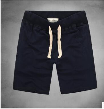 Corto verano coreano deportes slim pantalones casuales de los hombres plus tamaño de algodón cordón cinco punto pantalones cortos de baloncesto guardia Pantalones TZ-11