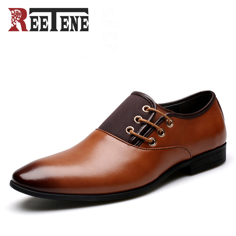 Plus Size 38-47 Fashion Leather Men Oxford, Casual Simple Men Dress Shoes, High Quality Genuine Leather Oxford Shoes For Men hot sale new oxford for men fashion men genuine leather shoes spring autumn men casual flat patent shoes size 38 44