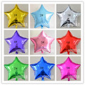 50 pieces/ lot 18inch Aluminum foil balloon Birthday Party Wedding Decoration 18 inches STAR BALLOON kids toys size 42cm