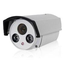 12 В 2A + HD 1080 P 2-МЕГАПИКСЕЛЬНАЯ IP Камера Пули Открытый Сети СОНИ 2IR Ночного Видения P2P Onvif