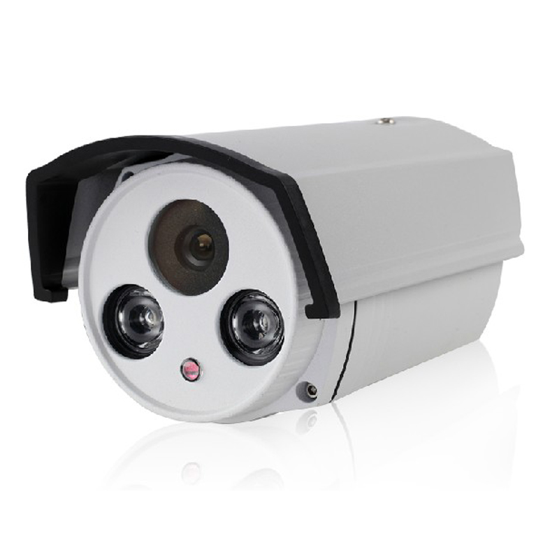 12V 2A HD 1080P 2MP IP Bullet Camera font b Outdoor b font Network 2IR Night